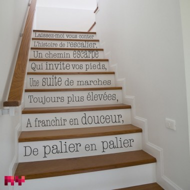 Sticker Escalier 1