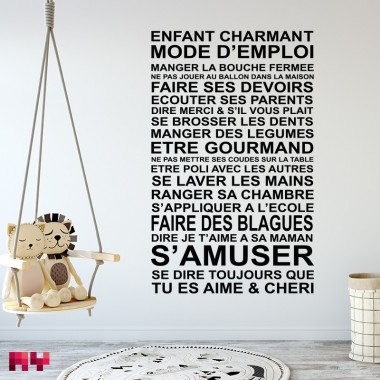 Sticker Enfant Charmant