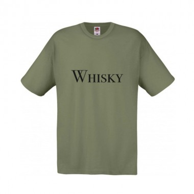 T-shirt Whisky - Homme