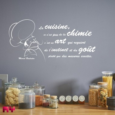Sticker La cuisine